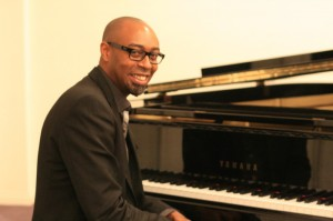 Eric Dozier at the piano